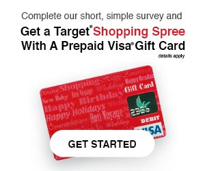 Ready for your Target Shopping Spree?