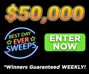 Best Day Ever Sweeps!
